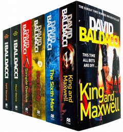 David Baldacci King and Maxwell Thriller 6 Books Collection Set Photo