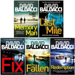 David Baldacci Amos Decker Series 5 Books Collection Set Photo