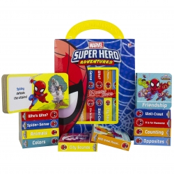 Marvel Spiderman Super Hero Adventures My First Library Board Book Block 12 Book Set Includes Characters from Avengers Endgame Photo