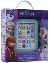 Disney Frozen Elsa, Anna, Olaf, and More! - Me Reader Electronic Reader and 8-Sound Book Library Great Alternative to Toys for Christmas Photo