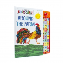 World of Eric Carle Around the Farm 30-Button Sound Book – Great Alternative to Toys for Christmas Photo