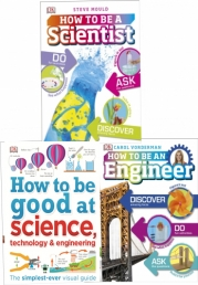 Dk Children Science 3 Books Collection Set (How to Be a Scientist, How to Be an Engineer, How To Be Good at Science) Photo