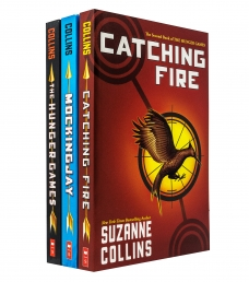 Hunger Games Trilogy Series 3 Books Collection Set By Suzanne Collins NEW COVER by Suzanne Collins