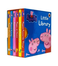 Peppa Pig Little Library Children Collection 6 Board Books Set Photo