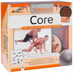 Anatomy Of Fitness Core The Trainers Inside Guide Complete Workout Kit Photo