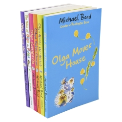 Olga Da Polga 6 Books Collection set by Michael Bond Photo