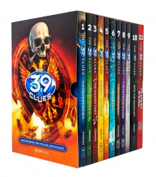 The 39 Clues Series 1 - 11 Books Collection Box Set by Rick Riordan