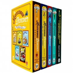 The Mysterious Benedict Society The Complete Series 5 Books Collection Set by Trenton Lee Stewart Photo