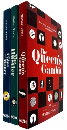 The Queens Gambit Series 3 Books Collection Set by Walter Tevis - The Queens Gambit, The Hustler, The Color of Money by Walter Tevis