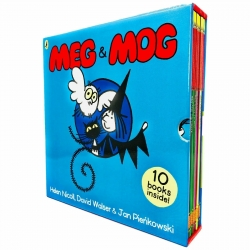 Meg and Mog Collection 10 Children Pictures Books Photo