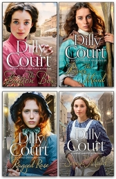 Dilly Court Collection 4 Books Set - Ragged Rose, River Maid, Button Box, Swan Maid Photo