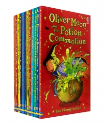 Oliver Moon Junior Wizard Collection 12 Books Set by Sue Mongredien Photo