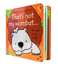 Thats Not My Wombat Touchy-Feely Board Books Photo