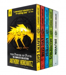 The Power of Five Anthony Horowitz 5 Books Collection Box Set by Anthony Horowitz