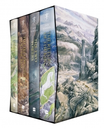 The Hobbit and The Lord of the Rings 4 Books Collection Boxed Set Illustrated edition Photo