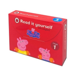 Read It Yourself with Ladybird Peppa Pig 5 Books Children Collection Set for Level 1 Photo