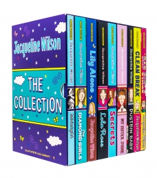Jacqueline Wilson 9 Books Collection Set Bad Girls, Clean Break, Dustbin Baby, My Sister Jodie Photo