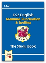 New KS2 English: Grammar, Punctuation and Spelling Study Book - Ages 7-11 Photo