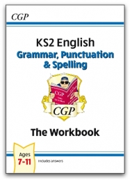 New KS2 English: Grammar, Punctuation and Spelling Workbook - Ages 7-11 Photo