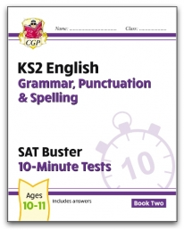 New KS2 English SAT Buster 10-Minute Tests: Grammar, Punctuation & Spelling - Book 2 (for 2021) Photo