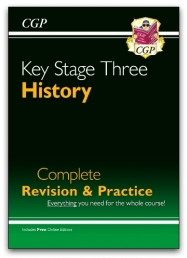 KS3 History Complete Revision & Practice (with Online Edition) Photo