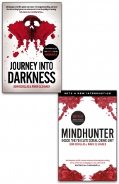 Mindhunter and Journey into Darkness 2 Books Collection Set by John Douglas Photo