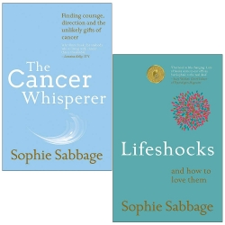 Sophie Sabbage 2 Books Collection Set - The Cancer Whisperer and Lifeshocks Photo