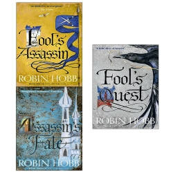 Robin Hobb Fitz and the Fool Collection 3 Books Set Fools Assassin, Fools Quest, Assassin Fate Photo