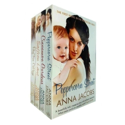 Anna Jacobs Peppercorn Series 4 Books Collection Set (Peppercorn Street, Cinnamon Gardens, Saffron Lane, Bay Tree Cottage) Photo