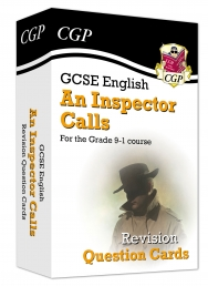 New Grade 9-1 GCSE English - An Inspector Calls Revision Question Cards Photo