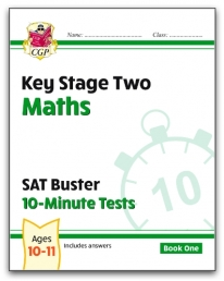 New KS2 Maths SAT Buster 10-Minute Tests - Book 1 Photo