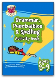 New Grammar, Punctuation & Spelling Activity Book for Ages 8-9: perfect for home learning Photo