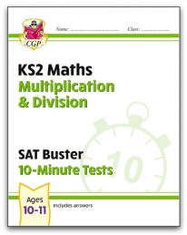 New KS2 Maths SAT Buster 10-Minute Tests - Multiplication & Division Photo