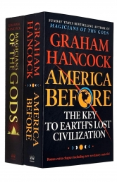 Graham Hancock 2 Books Collection Set (Magicians of the Gods and America Before) Photo