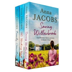 Anna Jacobs Collection 3 Books Set - The Wishing Well, Family Connections, Saving Willowbrook Photo