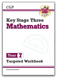 KS3 Maths Year 7 Targeted Workbook (with answers) Photo