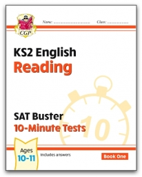 New KS2 English SAT Buster 10-Minute Tests: Reading - Book 1 Photo