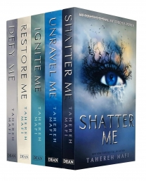 Tahereh Mafi Shatter Me Series Collection 5 Books Set Shatter, Restore, Ignite, Unravel, Defy Photo