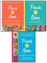 Pinch of Nom Collection 3 Books Set - Everyday Light, Pinch of Nom, Pinch of Nom Quick & Easy Photo