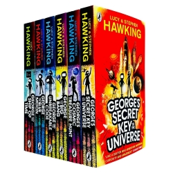 Georges Secret Key to the Universe Complete 6 Books Collection Set by Lucy and Stephen Hawking by Lucy and Stephen Hawking