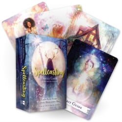 Spellcasting Oracle Cards: A 48-Card Deck and Guidebook by Flavia Kate Peters