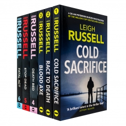 Leigh Russell A DI Geraldine Steel and DS Peterson Murder Thriller Series 6 Books Collection Set Photo