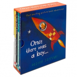 Oliver Jeffers 4 books Box Set Collection Includes Once there was a boy Photo