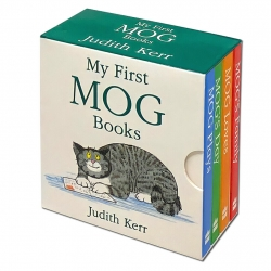 My First Mog Books Little Library set 4 Board books Collection By Judith Kerr Photo