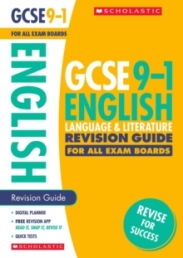 GCSE Grades 9-1: English Language and Literature Revision Guide for All Boards Photo