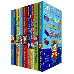 Jacqueline Wilson 10 Books Collection Set (Bed and Breakfast Star, BestFriends, Bad Girls, Double Act, Illustrated Mum, Midnight, Sleepovers & More) Photo