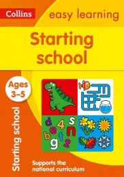 Collins Easy Learning Preschool - Starting School Ages 3-5 : Reception Maths and English Home Learning Photo