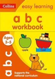 Collins Easy Learning Preschool - ABC Workbook Ages 3-5 : Reception English Home Learning Photo