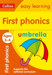 Collins Easy Learning Preschool - First Phonics Ages 3-4 Photo
