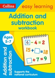 Collins Easy Learning KS1 - Addition and Subtraction Workbook Ages 5-7 Photo